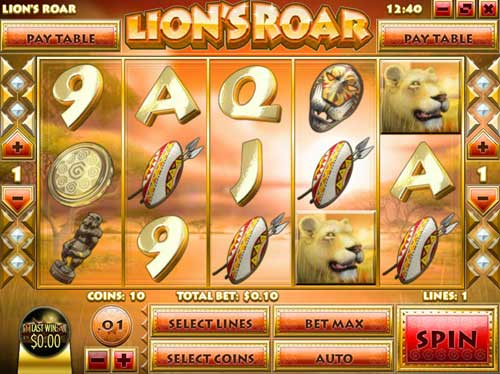Lions Roar - an iSlot Available at Rival Casinos